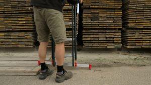 Stevige ladder gekocht
