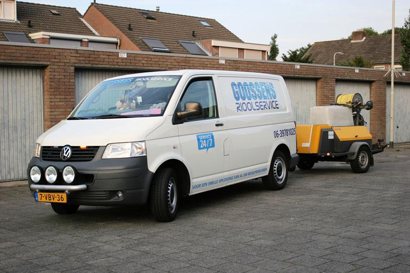 De beste ontstoppingsdienst Bergen op Zoom vind je bij Goossens Riool Service